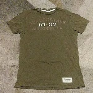 Aeropostale Green T Shirt Small